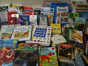 Library books head to Haiti
